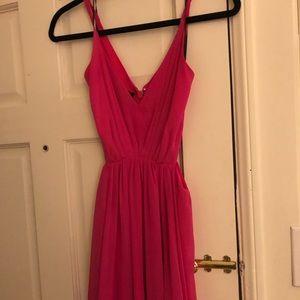 bebe Dresses - Bebe Pink Dress